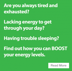 Are you always tired and exhausted? Lacking energy to get through your day? Experiencing mood swings? This could be a symptom of imbalance in your body